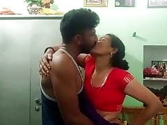 Desi Bhabhi Tears Up Devar In Standing Missionary Position
