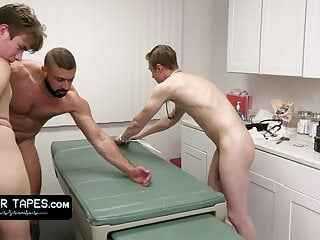 Adorable Innocent Patient Is Fully Submitting To Doctor