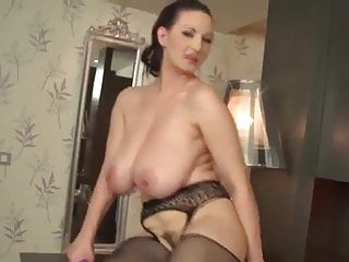 Giant Tits Euro Girl Wanks & Drills Fury Pussy With Toy
