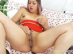 #colombian Chick Enjoys To Jack, It's Highly Hot