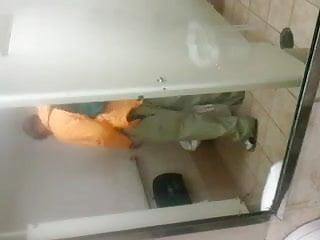 Bathroom spy...