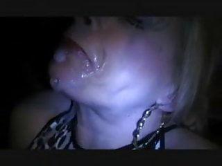 Ts choking on cum...