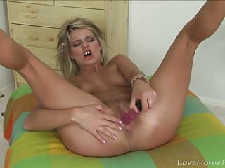 Lonely Babe Moans While Playing With A Toy