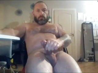 Solo masturbing and cumshoot 21...