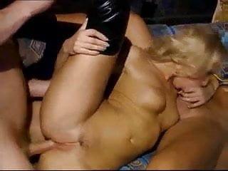 Duble penetration of Sophie Evans