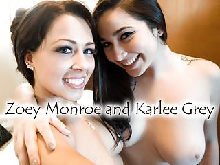 Karlee Gray And Zoey Monroe