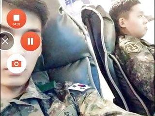 Korean soldier...