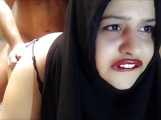 Crying anal cheating hijab wife fucked in the...