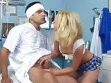 Skinny Blonde Slut Visits Boyfriend at Hospital