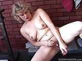 Gorgeous older babe wishes you were fucking her juicy pussy