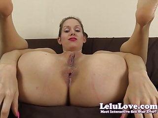 Lelu Love Lick My Feet And Puckering Asshole