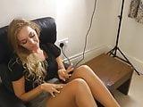 Hayley pantyhose show