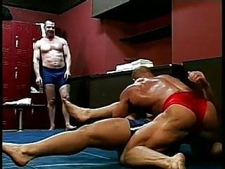 Dudes wrestling 4...