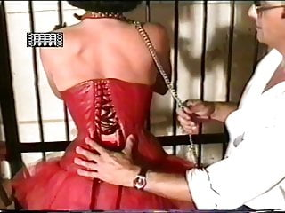 firmly corset tighten slave the female