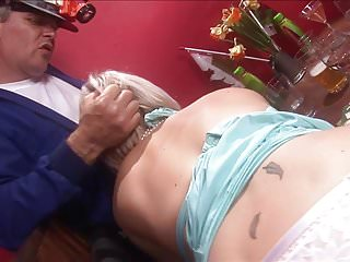 And blonde slut get fucked during an orgy...