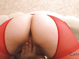 Best Friend?s Husband Pussy Licking Hot MILF in Lingerie, POV