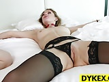 BDSM Lez Kendra James And Raylin Ann