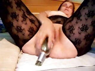 Amateur inserting beer bottle clip 1 of 2...
