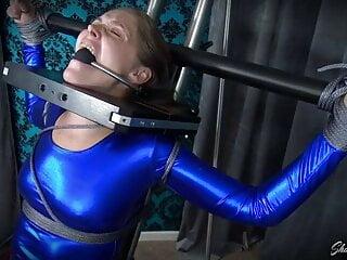 Rachel Adams Superhero Spandex Bondage