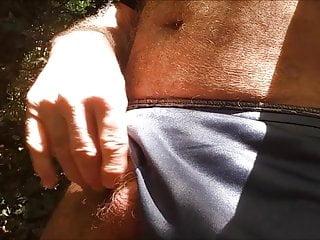 exhibe sexy au bois