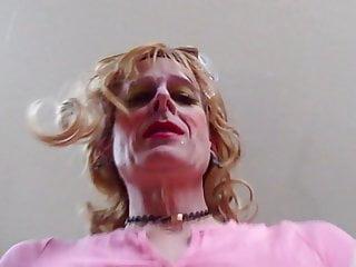 Crossdresser cums on your face...