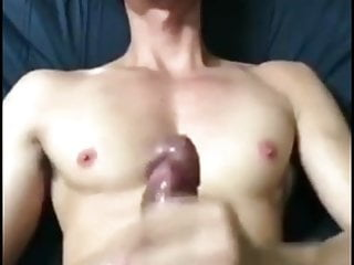 Sexy Thai Twink moans and wanks