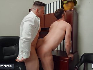Michael Boston Barebacked At The Office By His Muscular