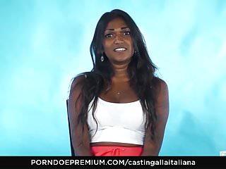CASTING ALLA ITALIANA – Indian babe naughty interview
