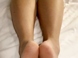 Big load on Asian soles