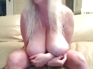 GIANT boob play. Big saggies. For big tit lovers.