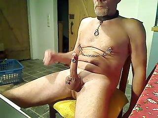 BigCock Piercings Cockring Nipplechain