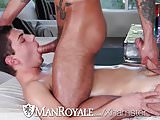 ManRoyale - Innocent massage turns into sloppy fuck