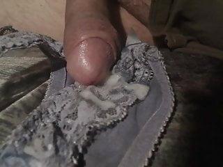 cumming on Panty