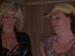 Two milfs pegging gay...