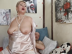 WOMEN POWER, or Adult games of hot mature couple from Russia