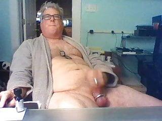 سکس گی Daddy strokes on cam webcam  small cock  masturbation  handjob  gay webcam (gay) gay cam (gay) fat  daddy  amateur