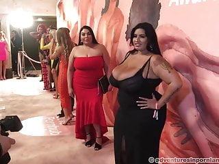 Pornhub awards 2019 red carpet part 1...