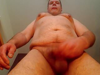 Older chubby loves to show himself...