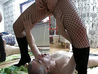 alte pissfotze brunzt ihm ins maul!Porn Videos