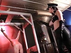 Ball Busting and hard Whipping