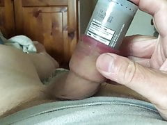 Plastic container in foreskin #2