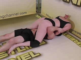 Oscar vs Amity & Monroe 19! Vegas Mixed Wrestling Action