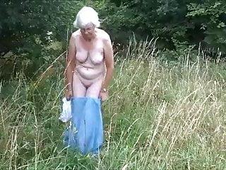 Uk granny strips...