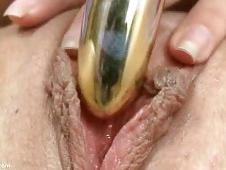 Elektra Cums With A Large Dildo In Her Pussy