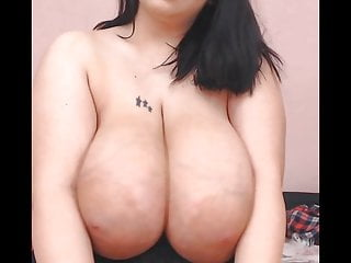 Sexy girl have hot big boobs