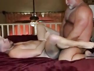 Helping my hot father to unload his seed in me