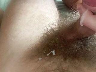 Sucks hairy balls...