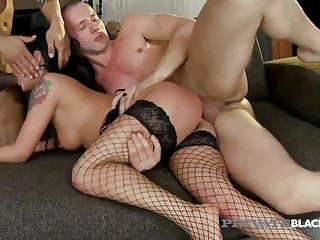 Interracial Orgy! Destiny PrivateBlackcom - Thin Has Inked