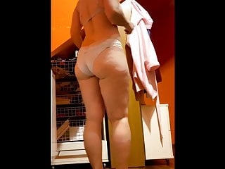 Mature wife spied on in locker room 23