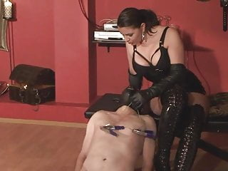LEATHER OPERA GLOVED-LADY ASMONDENA-WHIPS AGAIN HD